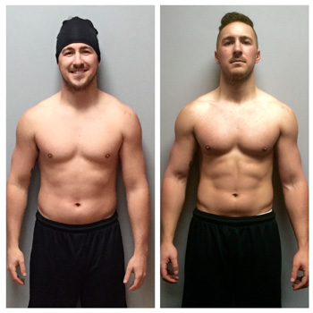 Before After Pictures - Keith Walker - DNAfitness